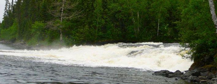 Chutes Shoulder Blade, Deer Lake