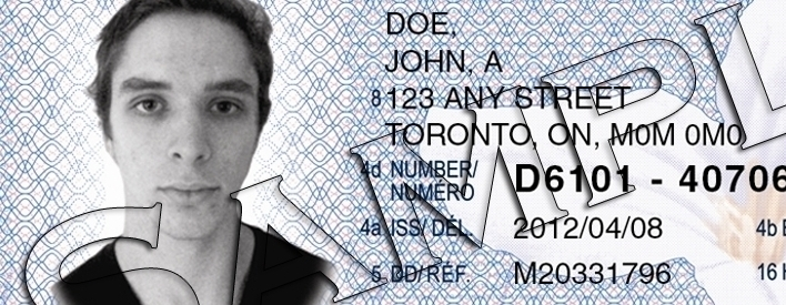New Legal Age Identifier for Ontario ID