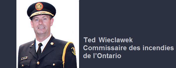Ted Wieclawek, commissaire des incendies
