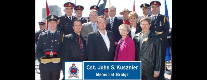 Officer John Kusznier Bridge Dedication - May 1, 2010
