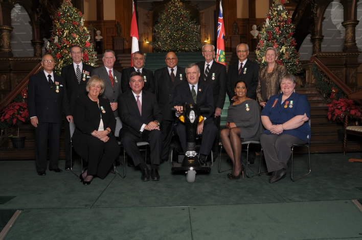 Ontarians Honoured With Medal For Good Citizenship