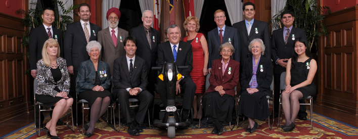 2010 Ontario Medal for Good Citizenship Recipients