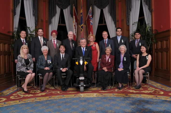 2010 Ontario Medal for Good Citizenship Recipients