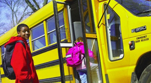 Les autobus scolaires
