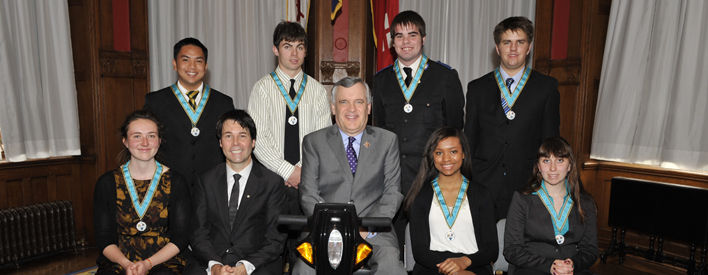 Ontario Medal for Young Volunteers: 2011 Recipients