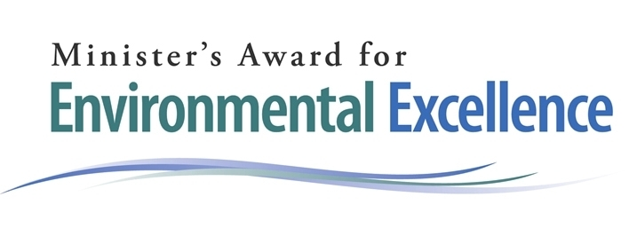 Minister's Award for Environmental Excellence logo