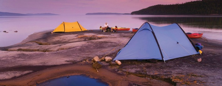 Picturesque views are all around you when you camp in an Ontario provincial park