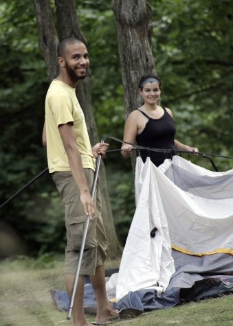 Put up a tent at an Ontario provincial park this summer and let the fun begin.