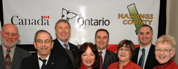 Governments of Canada and Ontario celebrate new Affordable Housing in Belleville.
