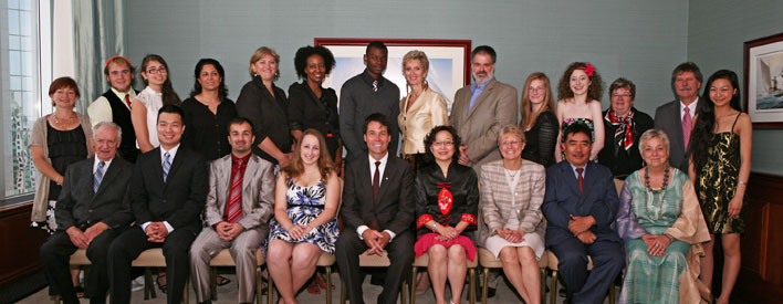 Newcomer Champion Awards: 2011 Recipients