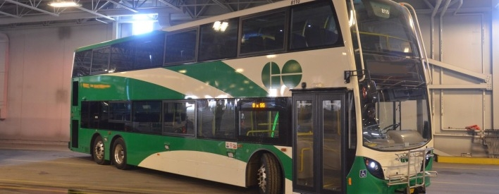 25 New Double-Decker GO Buses On The Way
