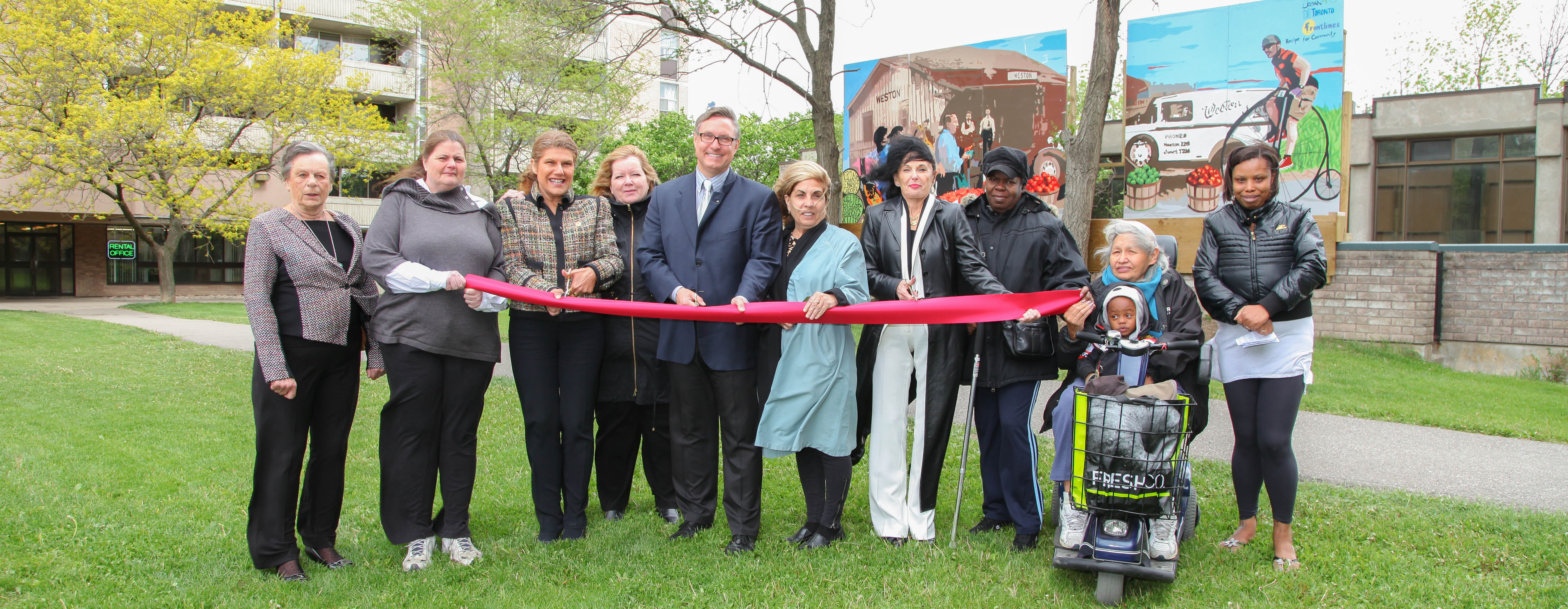 Affordable Housing Complex Benefits from Renovation Funding in Toronto