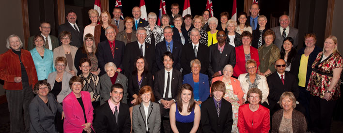 The 2011 June Callwood Award recipients