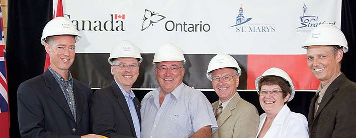 St. Marys - Governments of Canada and Ontario, St. Marys and  Stratford celebrate new affordable housing.