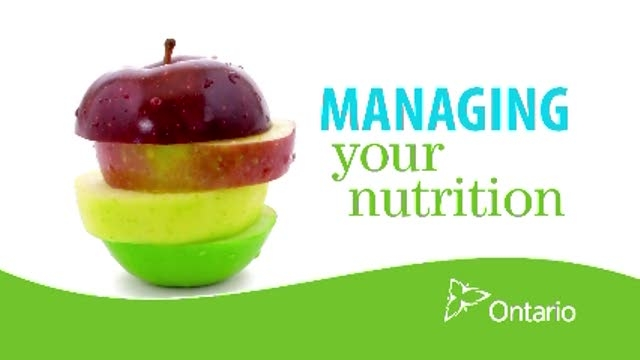 Managing your Nutrition