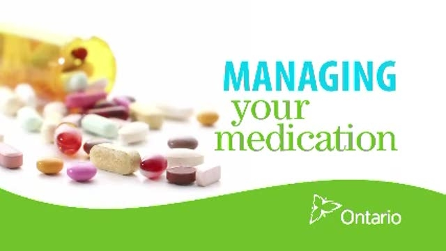 Managing your Medication