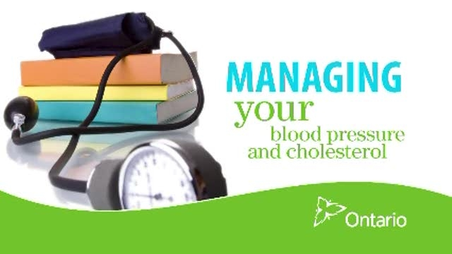 Managing your Blood Pressure & Cholesterol