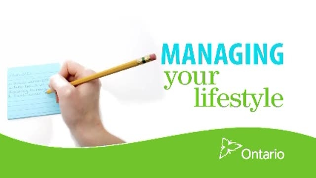 Managing your Lifestyle
