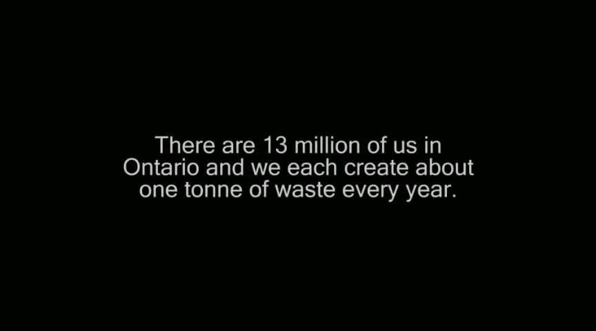 Video: The Ministry of the Environment encourages Ontarians to reduce the impact we all have on the environment so we can have a healthy and clean province today and for future generations.