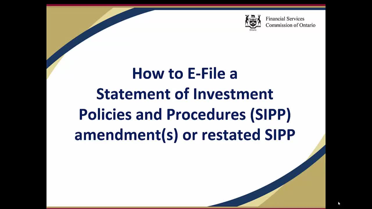 Sipp investment rules