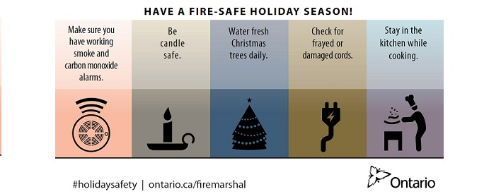 Have a fire safe holiday season!