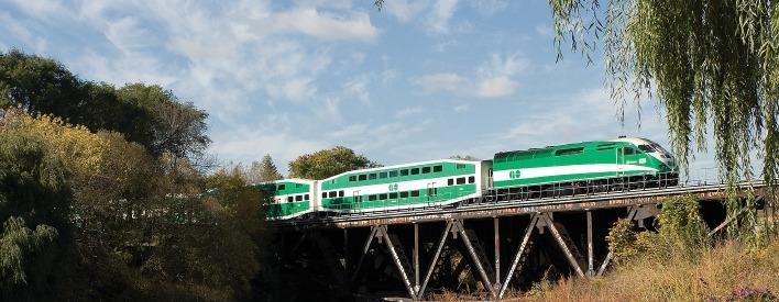 Faciliter l'utilisation des services de GO Transit par les banlieusards