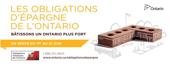 Les Obligations d'épargne de l'Ontario 2010