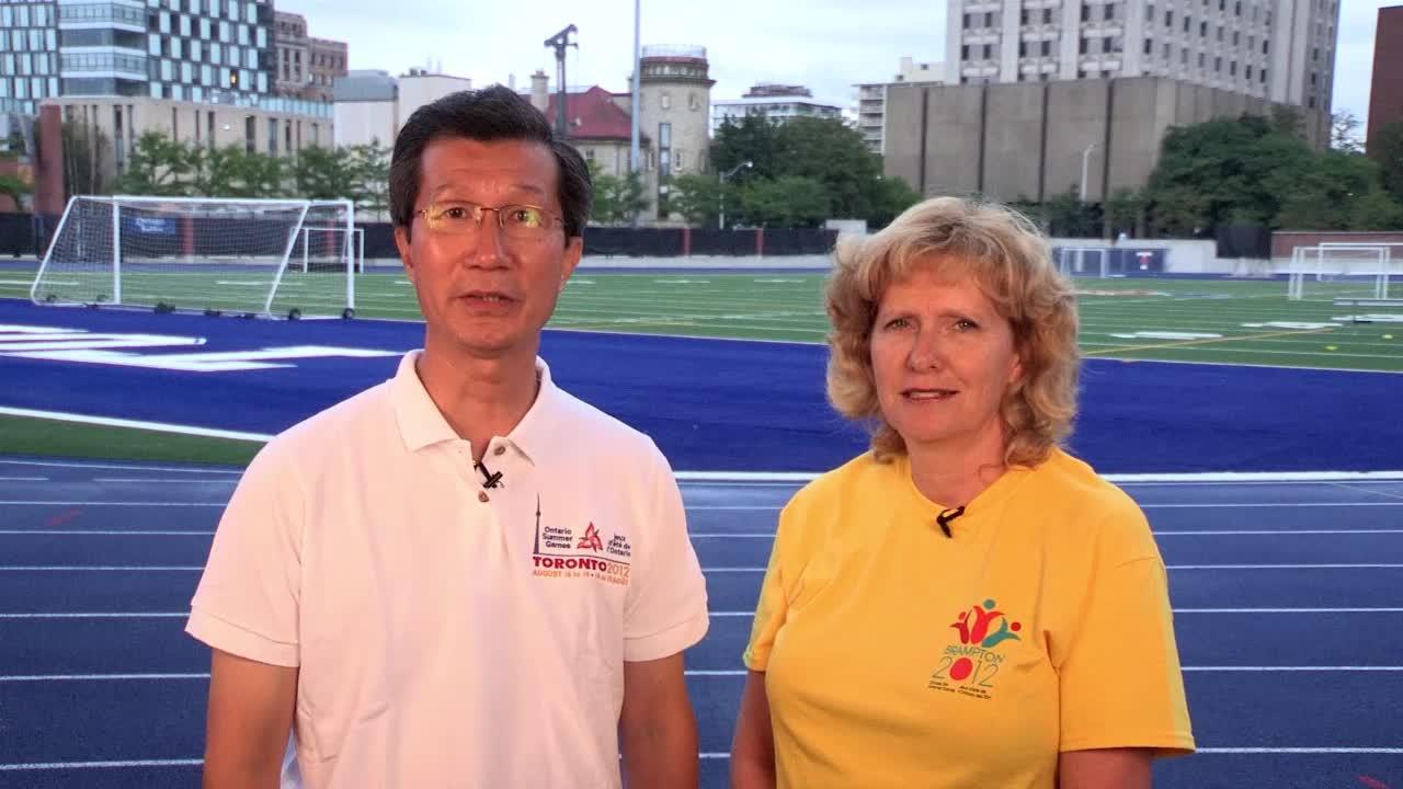 Le ministre du Tourisme, de la Culture et du Sport pour célébre les Olympiens et athlètes de tout âge de l'Ontario