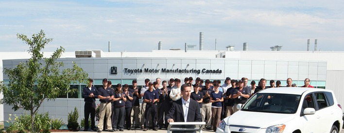 Ontario Puts A Charge Into Electric Vehicle Production