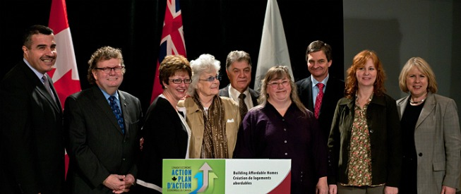 Governments of Canada and Ontario Celebrate Social Housing Being Renovated In London