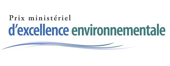 Prix ministériel d'excellence environnementale.