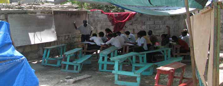 Helping Haiti's Schools