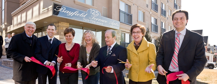Affordable Housing Being Built and Renovated in Barrie
