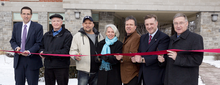 Governments of Canada and Ontario Celebrate New Affordable Housing in Waterloo