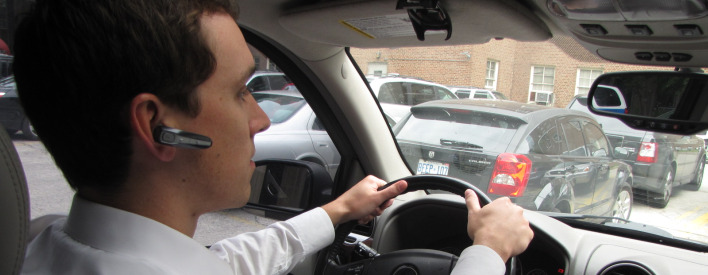 4 Drivers, 4 Devices, 4 Safer Ways To Drive Under Ontario's New Distracted Driver Law