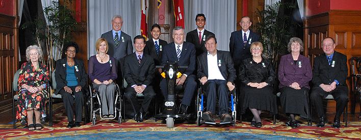 2009 Ontario Medal for Good Citizenship Recipients