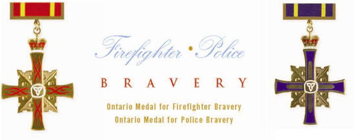 Police/Firefighter medals