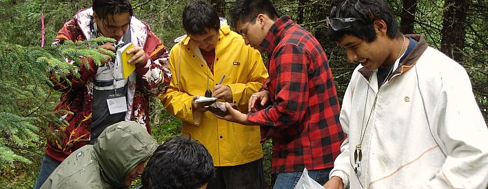 The Ministry of Natural Resources offers many  youth employment opportunities.
