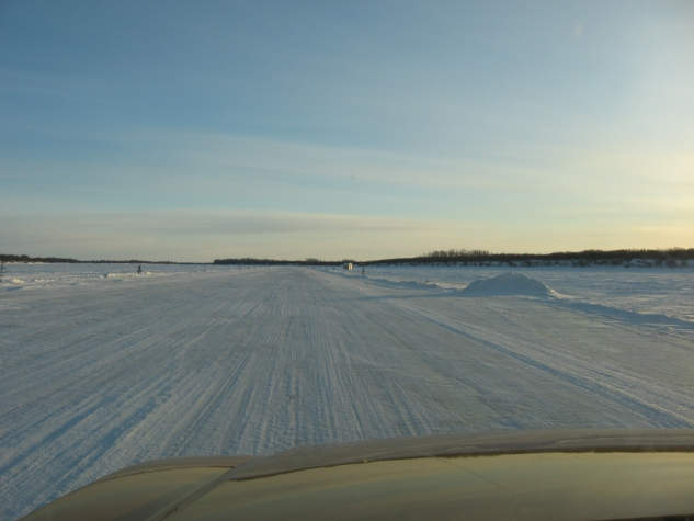 Ontario's northern most communities are connected by a vast network of winter ice roads.