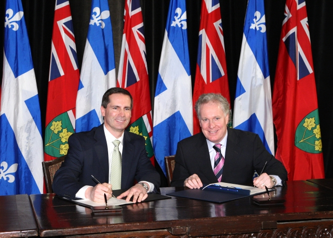 Ontario And Quebec Build Foundation For A Stronger Central Canadian Economic Region