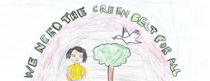 Toronto student Esha Patel's artwork.