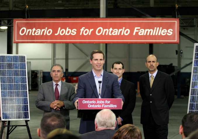 Premier Dalton McGuinty announces an investment of nearly $8 million to create more jobs for Ontario workers.