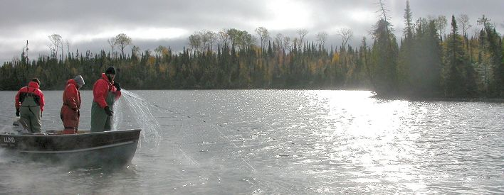 Natural Resources Crews Monitoring Northeastern Ontario Lakes