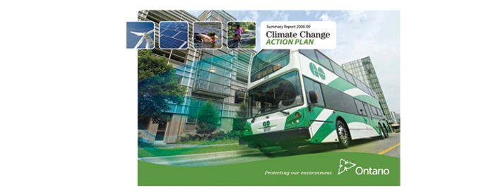 Ontario is making significant progress in cutting its greenhouse gas (GHG) emissions according to the Climate Change Action Plan 2008-2009 Annual Report released today.