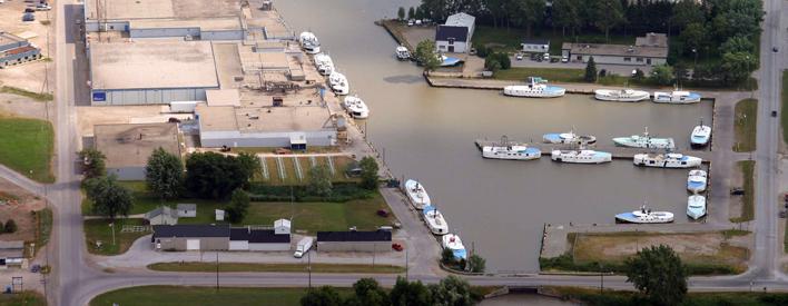 L'écosystème au port de Wheatley, sur le lac Érié, a été remis en état, ce qui a permis de rayer cet endroit de la liste des « secteurs préoccupants » des Grands Lacs.