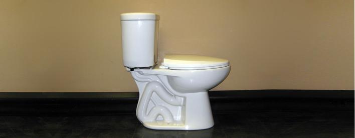 La technologie derrière les toilettes á faible consommation d'eau est un exemple de la façon dont les entreprises ontariennes prennent l'initiative et vendent leurs technologies liées á l'eau partout dans le monde.